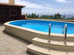 Lovely villa with pool and sea views