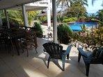 Outdoor verandah living - at it's best