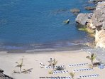 Beach Las Galgas (150 metres) with direct access from the complex