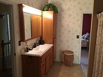 Oversized Upstairs Bathroom with Tub/Shower