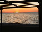 Sunset from Under the Pergola