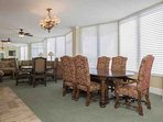 Conduct business, play cards or have a private party in the lounge with full kitchen