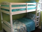 we have two sets of twin beds in guest room