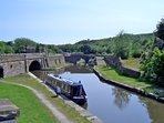 Bugsworth basin located a short walk along the canal close to the property.