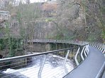 Sett Valley trail - a great walk, and located behind the property.