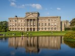 Lyme Park - National trust site.  Located 10 minute drive from the property.  Open all year.