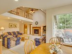 Lakefront home with private dock, game room, and private hot tub
