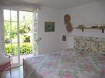 1st floor bedroom with terrace