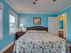2nd Floor Master Bedroom w/1 King