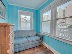 2nd Floor Master Bedroom Has A Sleeper Sofa