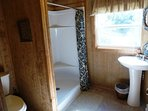 Full Bathroom with a walk in Shower on the 2nd floor