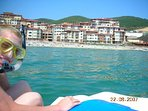 Ever been snorkeling? Why not hire a pedalo from the complex marina..!!