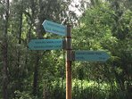 Great walking/ hiking trails within the resort