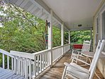Grant yourself a private relaxing North Carolina getaway with this Fairview vacation rental cottage!