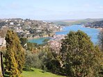 Salcombe Estuary from Overbecks Gardens