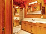 After a day outdoors, shower off in one of the 2 full bathrooms.