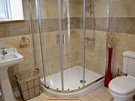 Stylish shower ensuite with multiflow head