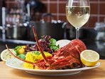 Talk to a local fisherman about his catch of the day and enjoy a delicious feast