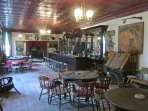 Relax in the Old West Saloon..