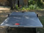 our outdoor ping pong table