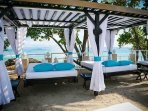 Relax by the sand and enjoy the Caribbean breeze or catch up on some sleep