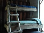 Comfortable bunk beds where you can relax and enjoy the sounds of nature around you!