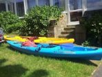 Tarpon 120 X 2 kayaks for rental