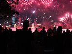 13.5 klms to Australia day fireworks