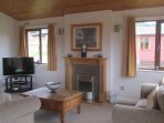 lounge area with 40' TV with DVD player, CD/Radio Player and freeview