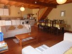 spacious comfortable accommodation well equipped for a self catering family holiday in France