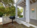 Grill-Outdoor Shower Area