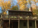 Cozy 4BR Ski Chalet-1mile to Okemo base + hot tub