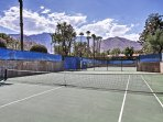 this Palm Springs vacation rental condo provides everything you need for a relaxing stay!