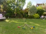 Have fun and play games in the garden!