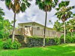Welcome to your tropical Kapoho Beach Lots 'Hawksbill' vacation rental home, enclosed by a fence for ultimate privacy!