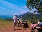 Quad tours into the neighboring mountains to hidden waterfalls and scenic vistas