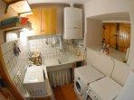 Cucina - appartamento da 4 posti letto