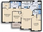 Floor Plan 3 Bedroom