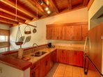 Recently updated kitchen  - The recently updated kitchen offers new appliances and over looks the living room.