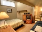 Loft Entertainment - TV/DVD and PlayStation 2 are located upstairs so kids can have a fun , separated area from the...