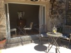 .....or open to let in the wonderful Provençal air and scents