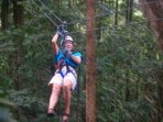 PARADISE ADVENTURES. ZIPLINE IN THE JUNGLE.
