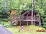 'Romantic Retreat' 1 bedroom cabin near Gatlinburg