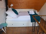 Loft.. Spacious, comfortable, with  luxurious box-spring beds and Egyptian cotton beddings