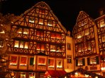 The largest Advent calendar in the Moselle region is found in Bernkastel-Kues