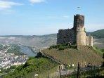 The castle of Bernkastel