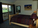 Master Bedroom Overlooking Golf Course and Mountains