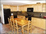 Large Kitchen Area with Dining Table for Six