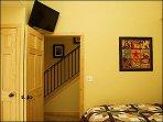 Bedroom/Flat Screen TV