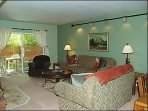 Living Room - Comfortable Furnishings, Sleeper Sofa, Patio Access